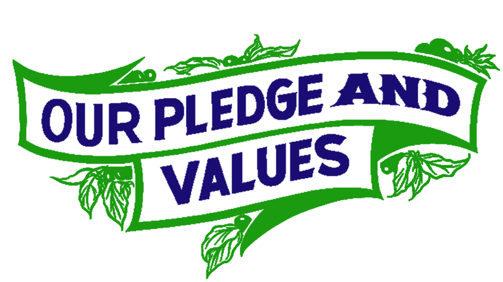 Pledge and Values