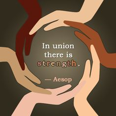 In union there is strength