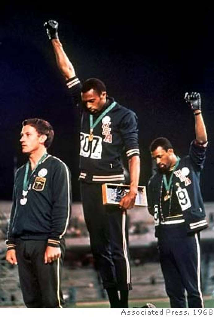 tommie smith and jon Carlos
